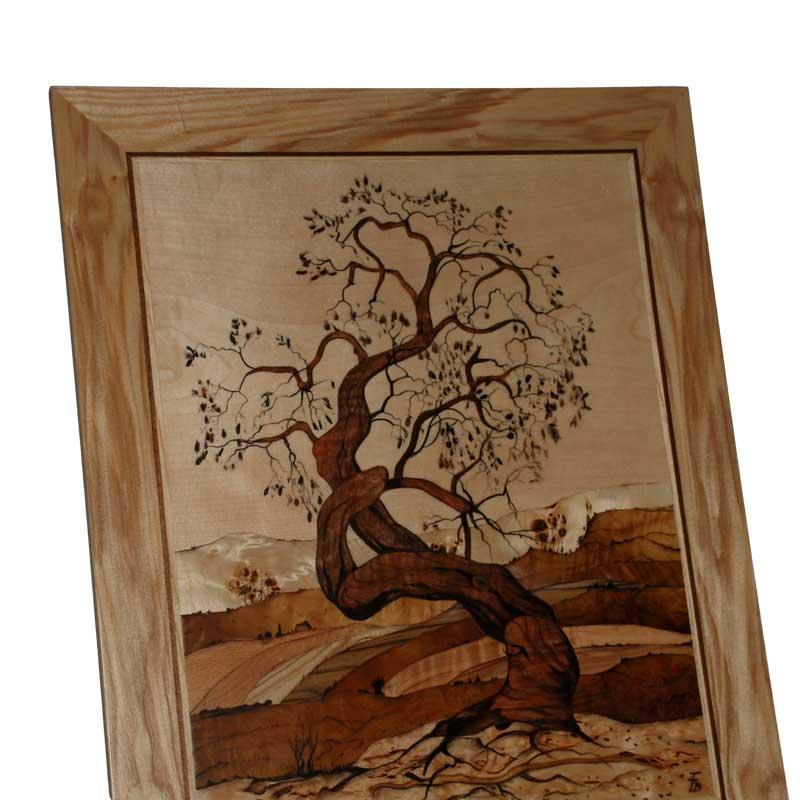 Baum Holzbild Kreativwerkstatt Dürnkrut